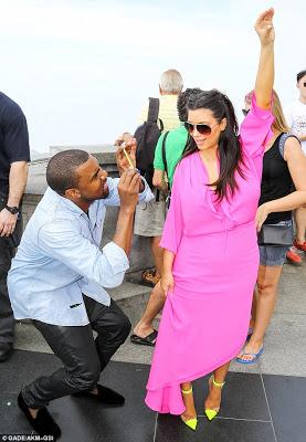 Kim K and Kanye in Rio de Janeiro, Brazil