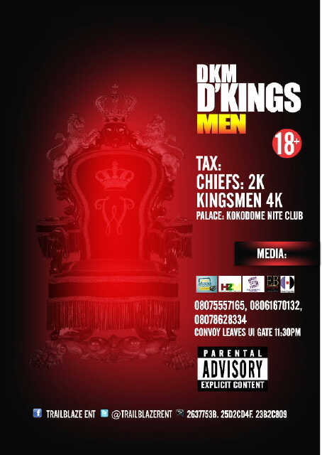Kingsmen Party Flyer  2