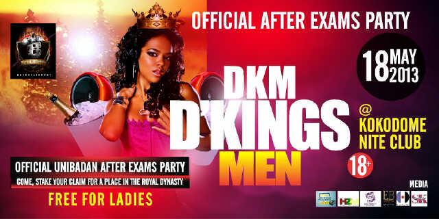 Kingsmen Party Sticker